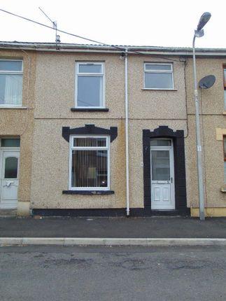 Thumbnail Terraced house for sale in Lower Cross Road, Llanelli