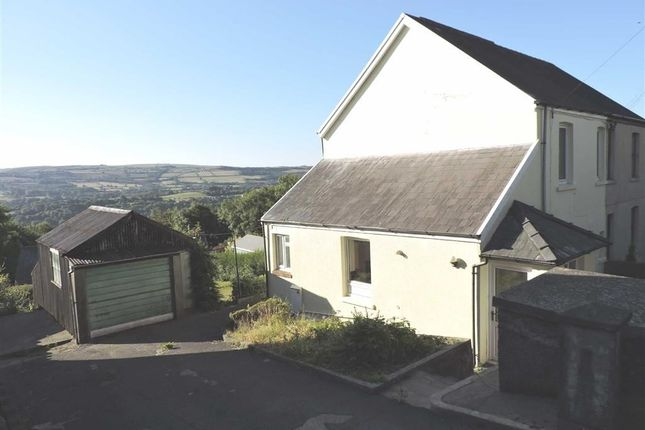 Thumbnail Semi-detached house for sale in Heol Y Banc, Bancffosfelen, Llanelli