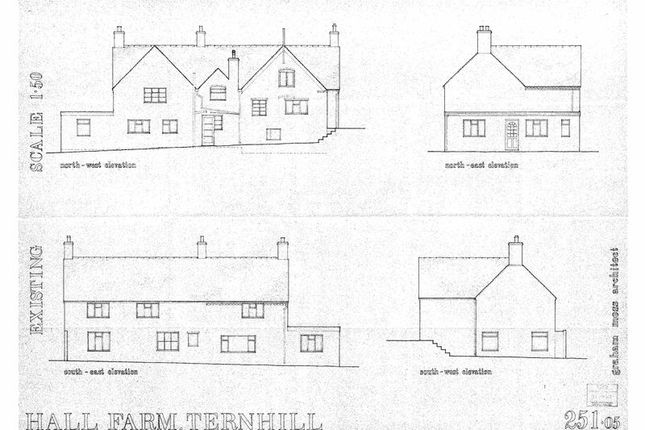 Land for sale in The Mill House, Tern Hill, Market Drayton