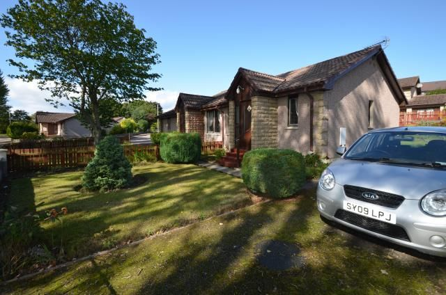 Thumbnail Bungalow for sale in 12 Balmakeith Park, Nairn