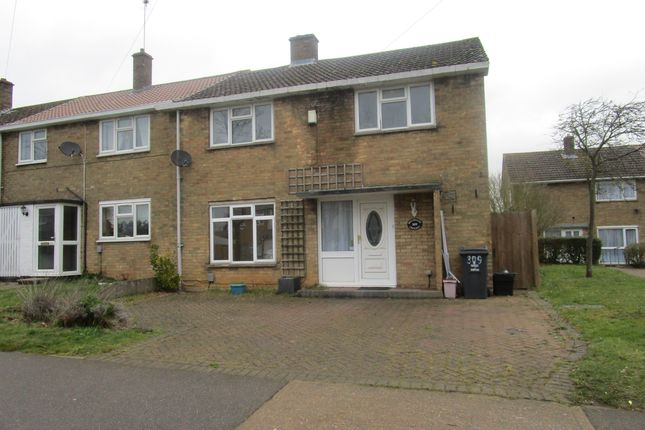 Thumbnail End terrace house to rent in Broadwater Crescent, Stevenage