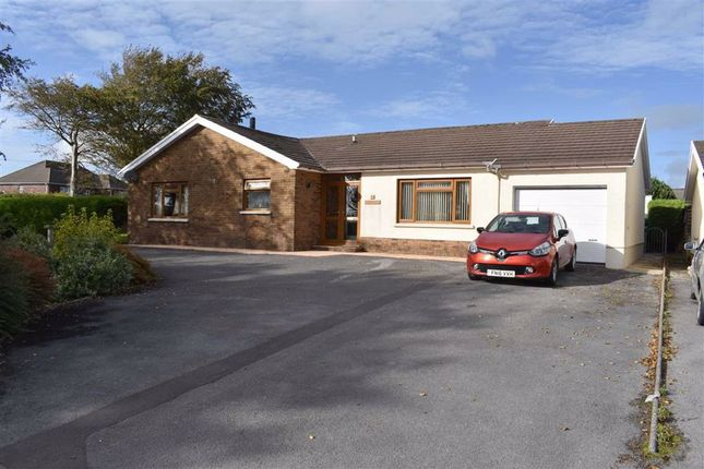 Thumbnail Detached bungalow for sale in Parc Yr Ynn, Llandysul