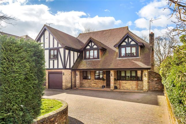 Thumbnail Detached house for sale in Rockfield Road, Oxted, Surrey