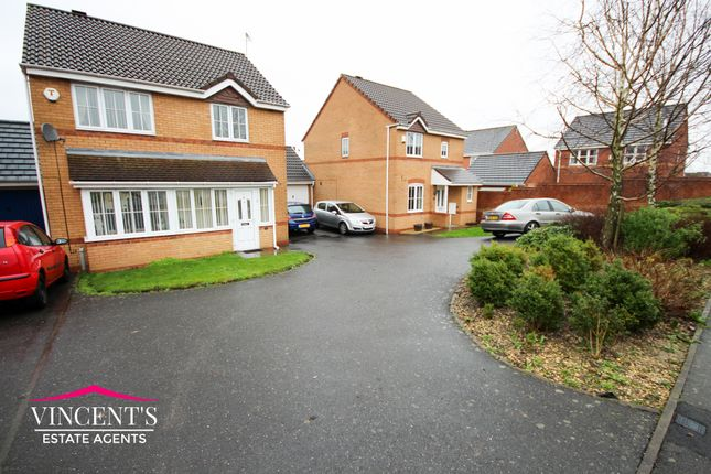 Thumbnail Detached house for sale in Jewsbury Way, Thorpe Astley, Leicester