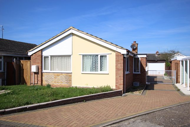 Thumbnail Detached bungalow for sale in Packard Place, Bramford, Ipswich, Suffolk