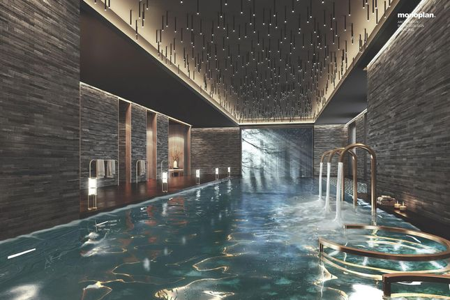 Swimming Pool of Rhodania Parc, 3963, Crans-Montana, Crans Montana, Valais, Switzerland