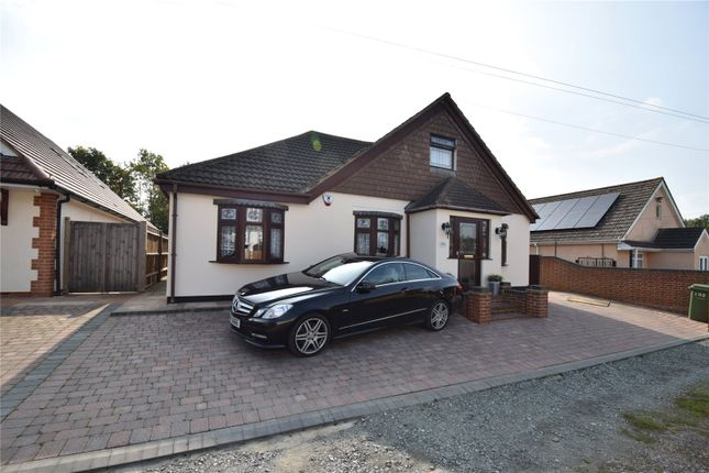 Thumbnail Detached bungalow for sale in Hedge Place Road, Greenhithe, Kent