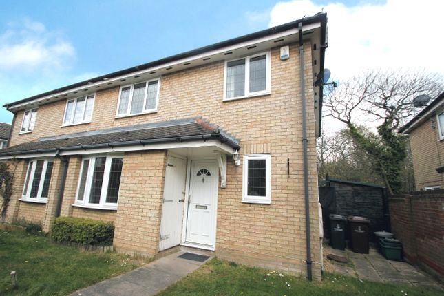 Thumbnail End terrace house to rent in The Copse, Colchester