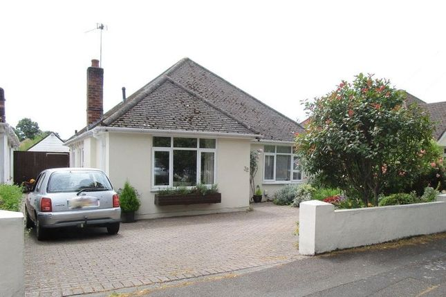 Thumbnail Detached bungalow for sale in Redhill Avenue, Winton, Bournemouth