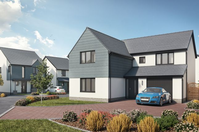 Thumbnail Detached house for sale in Plot 7 The Carew, Caswell, Swansea