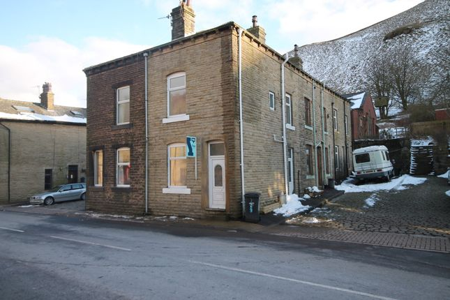 Thumbnail End terrace house to rent in Burnley Road, Todmorden