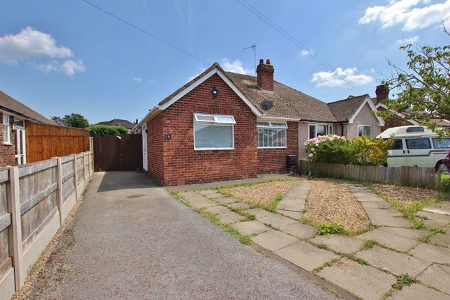 Thumbnail Semi-detached bungalow for sale in Ridgemere Road, Pensby, Wirral