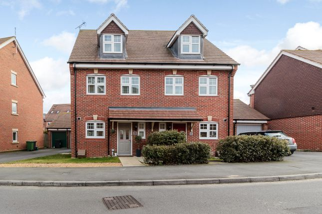 Thumbnail Semi-detached house for sale in Waterers Way, Bagshot