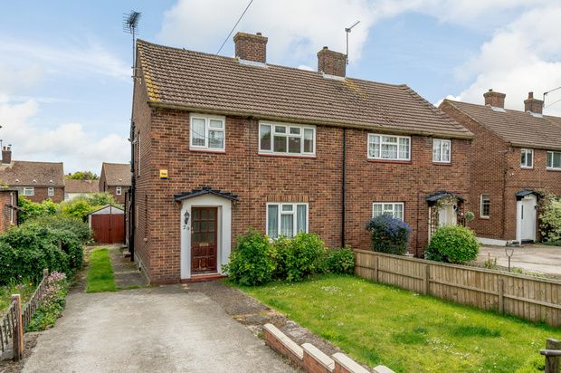 Thumbnail Semi-detached house to rent in Laburnum Avenue, Swanley