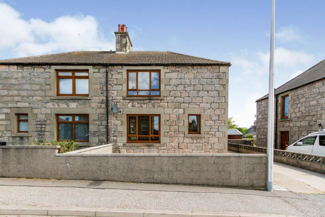 3 bed semi-detached house for sale in James Street, Buckie AB56