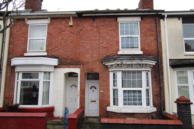 Thumbnail Terraced house for sale in Wanderers Avenue, Blakenhall, Wolverhampton