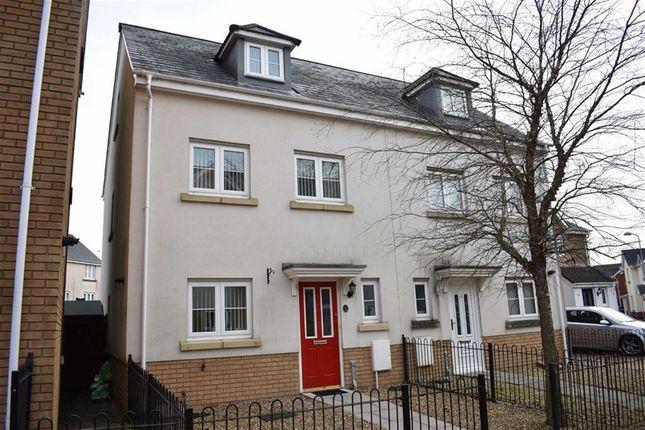 Thumbnail Town house for sale in Heol Banc Y Felin, Gorseinon, Swansea