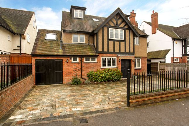 Thumbnail Detached house for sale in Cassiobury Park Avenue, Watford, Hertfordshire