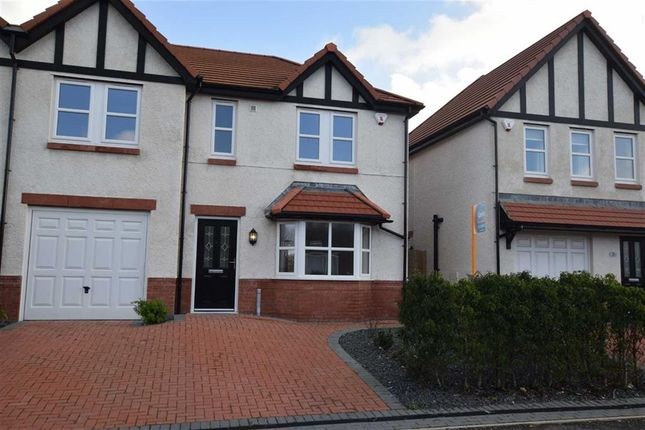 Thumbnail Semi-detached house for sale in Kingsdown Mews, Barrow In Furness, Cumbria