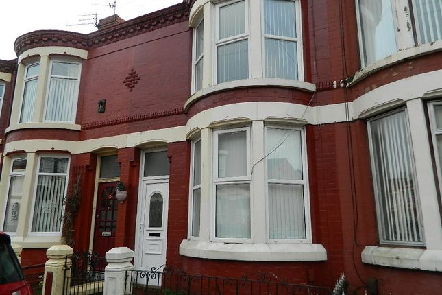 Thumbnail Terraced house for sale in Bankburn Road, Liverpool