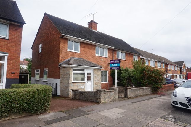 Thumbnail Semi-detached house to rent in Worlds End Lane, Birmingham