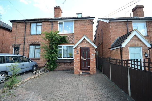 Thumbnail Semi-detached house for sale in Branksome Hill Road, College Town, Sandhurst