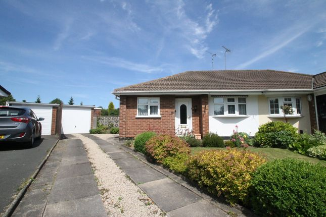 Thumbnail Semi-detached bungalow to rent in Woodview Road, Atherstone