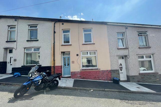 Thumbnail Terraced house for sale in St Mary Street, Trelewis, Treharris