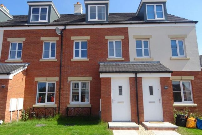 Thumbnail Terraced house to rent in Bryn Eirlys, Coity