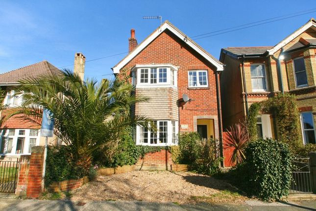 Thumbnail Detached house for sale in St. Pauls Avenue, Shanklin