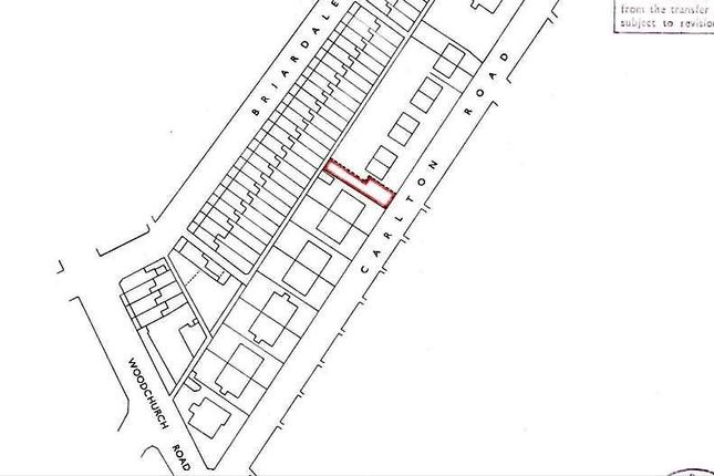 Land for sale in Carlton Road, Birkenhead