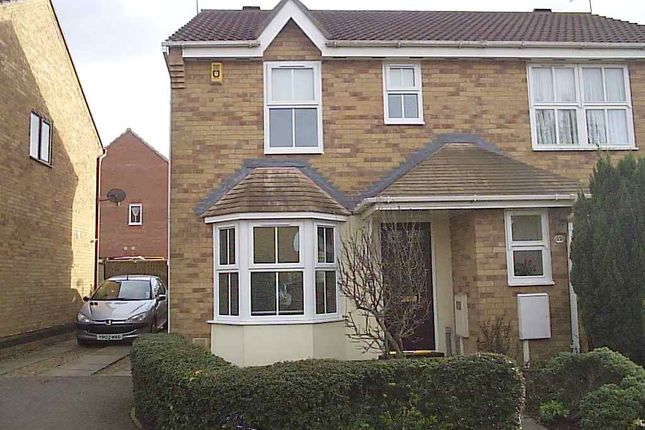 Thumbnail Semi-detached house to rent in Pevensey Close, Rushden
