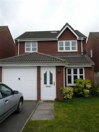 Thumbnail Detached house to rent in Trafalgar Close, Monmouth, Monmouthshire