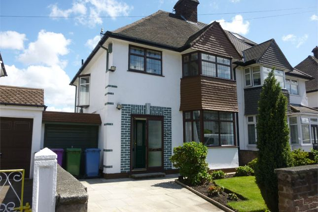 Thumbnail Semi-detached house to rent in Bellefield Avenue, Liverpool, Merseyside