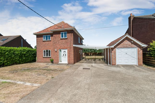 Thumbnail Detached house for sale in Lion Road, Palgrave, Diss