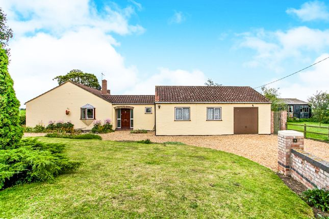 Thumbnail Detached bungalow for sale in Burnt Chimney Drove, Littleport, Ely
