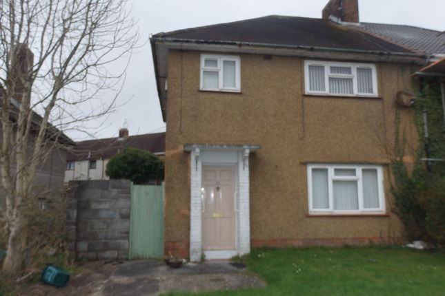 Thumbnail Semi-detached house to rent in Nantfach, Llanelli