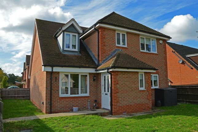 Thumbnail Detached house for sale in Sherrard Way, Mytchett, Camberley, Surrey