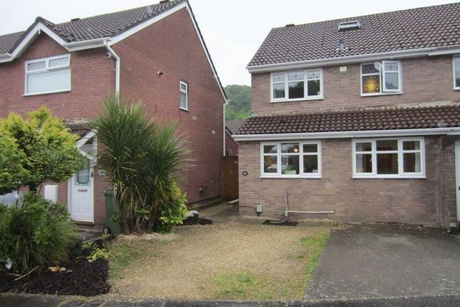 3 bed semi-detached house to rent in Lauriston Park, Caerau, Cardiff, South Glamorgan. CF5