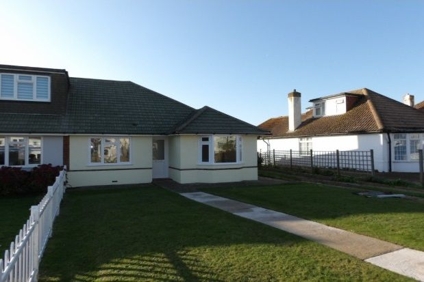 Thumbnail Bungalow to rent in South Coast Road, Peacehaven