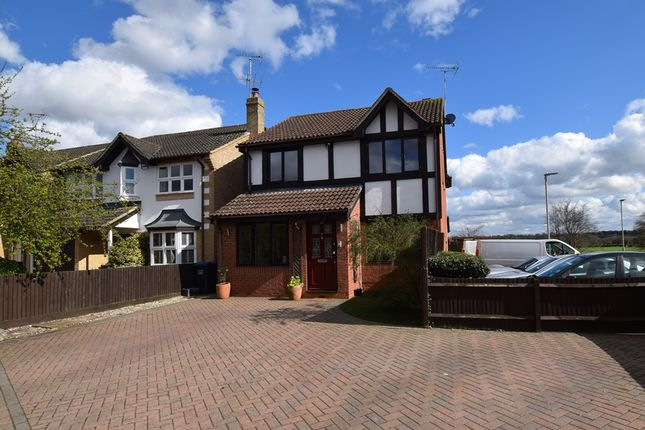Thumbnail Detached house for sale in Carvers Croft, Woolmer Green, Knebworth, Hertfordshire