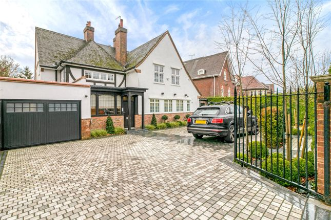 Thumbnail Detached house to rent in The Bishops Avenue, Hampstead Garden Suburb, London