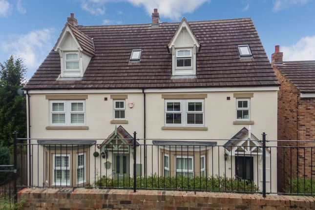 Thumbnail Semi-detached house for sale in Whitton View, Rothbury, Morpeth