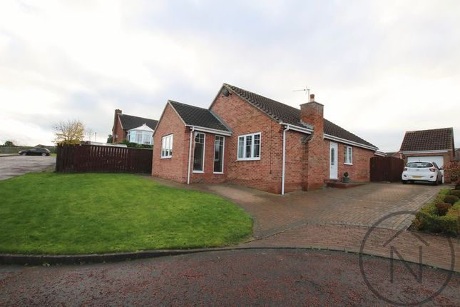 Thumbnail Detached bungalow for sale in The Paddock, Newton Aycliffe