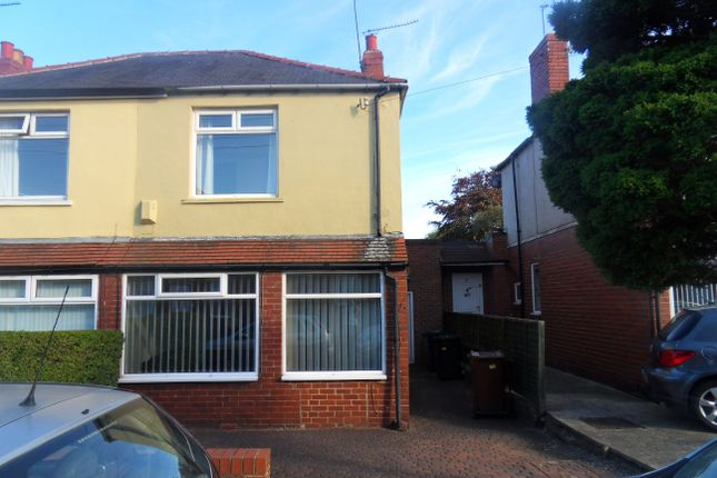 Thumbnail Semi-detached house for sale in Fallowfield Avenue, Newcastle Upon Tyne
