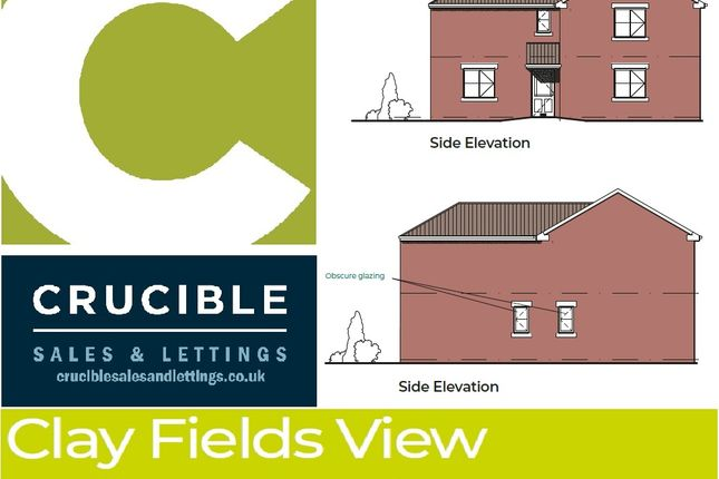Thumbnail Detached house for sale in Plot 10, Clay Fields View, Clay Cross, Chesterfield
