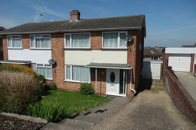 Thumbnail Semi-detached house for sale in Dockfield Avenue, Harwich