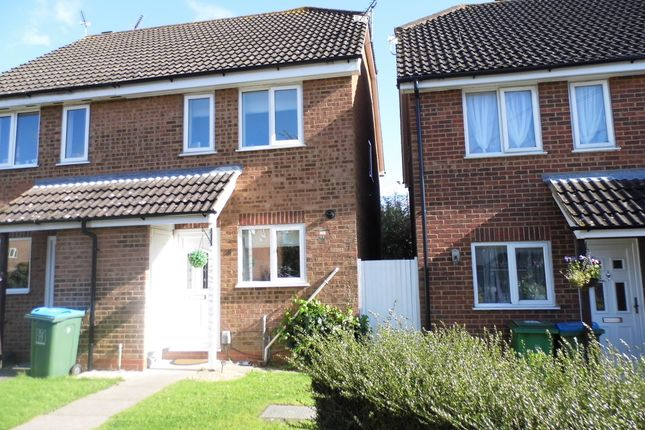 Thumbnail End terrace house to rent in Pearson Close, Aylesbury