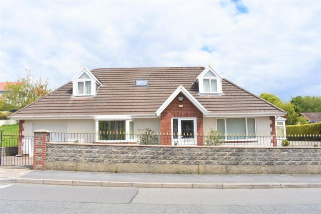 Thumbnail Detached bungalow for sale in Glan Yr Afon Road, Sketty, Swansea