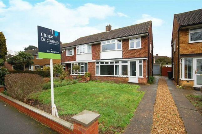 Thumbnail Semi-detached house for sale in Buckingham Road, Hampton